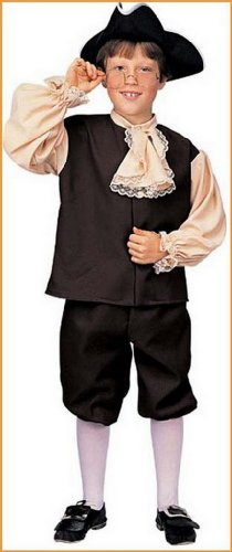 Colonial Boy Childrens Halloween Costumes.