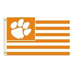 Buy BSI Clemson Tigers Premium 3x5 Stripes Flag by BSI