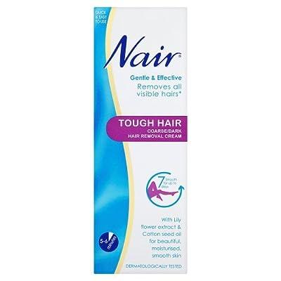 Nair Tough Hair Coarse Hair Removal Cream, 200ml