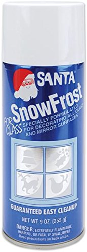 Chase 499-0521 Snow Frost Aerosol Spray, 9-Ounce - 1