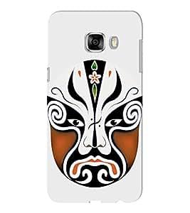 EPICCASE Beijing Opera Brown Mask Mobile Back Case Cover For Samsung C5 (Designer Case)