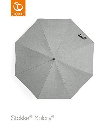 Stokke Stroller Parasol, Grey Melange - 1