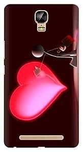 Kizil TM Designer Printed Back Case Cover for Gionee Marathon M5 Plus