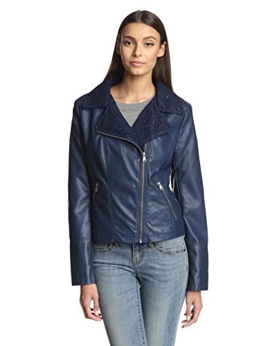 Jessica Simpson Women's Faux Leather Jacket
