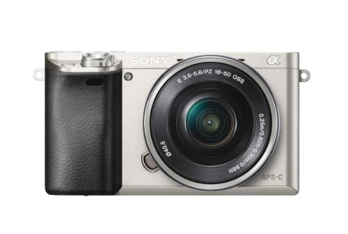 Sony Alpha a6000 Mirrorless Digital Camera with 16-50mm Power Zoom Lens (Silver)