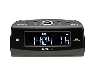 Roberts CHRONODAB DAB/FM Digital Alarm Clock Radio with Instant Time Set