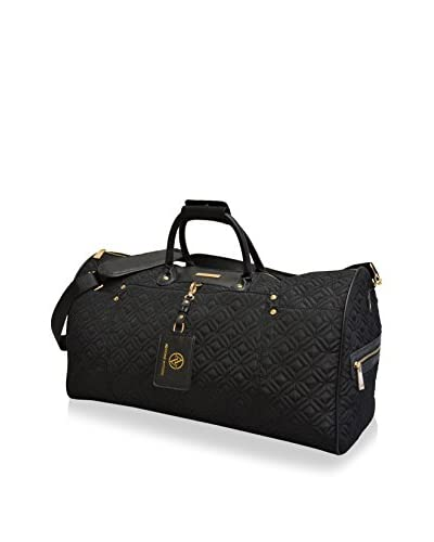 Adrienne Vittadini 22 Travel Light Quilted Duffle, Black