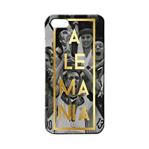 BLUEDIO Designer 3D Printed Back case cover for Apple Iphone 5 / 5S / SE - G3354