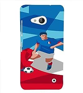 PrintVisa Sports Football France Design 3D Hard Polycarbonate Designer Back Case Cover for Nokia Lumia 550