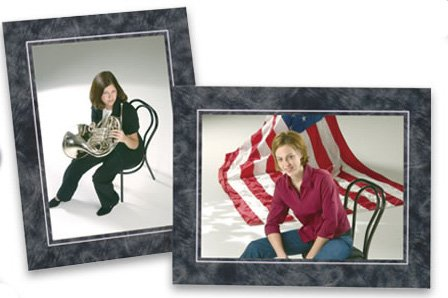 Cardboard Photo Easel Frame - 4x6 - Pack of 50 Marble (Cardboard Photo Frame 4x6 compare prices)