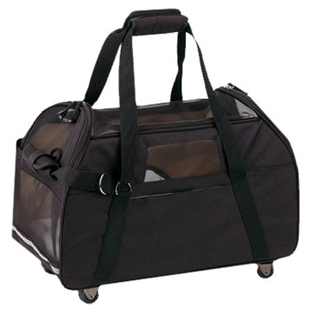 Large Wheeled Comfort Pet Carrier - Small Dog Dogs Cat Cats Carriers Airport Approved Air Travel