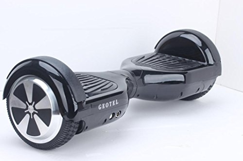Self Balancing Scooter, GEOTEL® Two Wheel Self Balance Electric Board Drifting Personal Transporter Mini Unicycle with Led Light (Black, 6.5″)