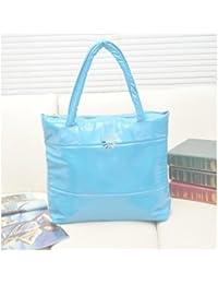 Fashion Handbag Women Famous (Light Blue)