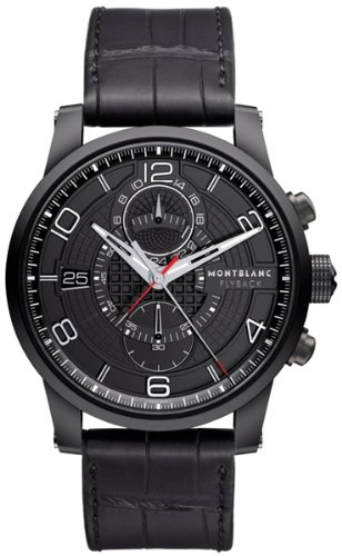 NEW MONTBLANC TIMEWALKER FLYBACK CHRONOGRAPH MENS LIMITED EDITION WATCH 106507