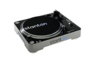 Stanton T62 Straight Arm Direct-Drive DJ Turntable with 500.v3 Cartridge Pre-Mounted