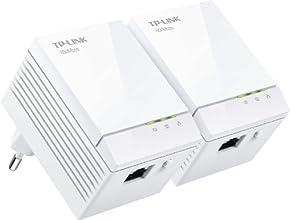 TP-LINK TL-PA6010KIT - Kit de inicio con adaptadores Powerline AV600 Gigabit (2 unidades), Blanco