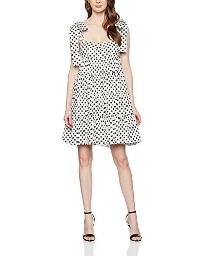 Dolce & Gabbana Vestido Blanco / Negro