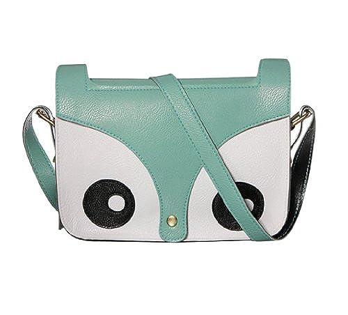 01. niceeshop(TM) Carton Retro Shoulder Messenger Bag Crossbody Satchel Handbag