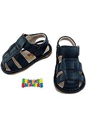 2766 Navy Sandal