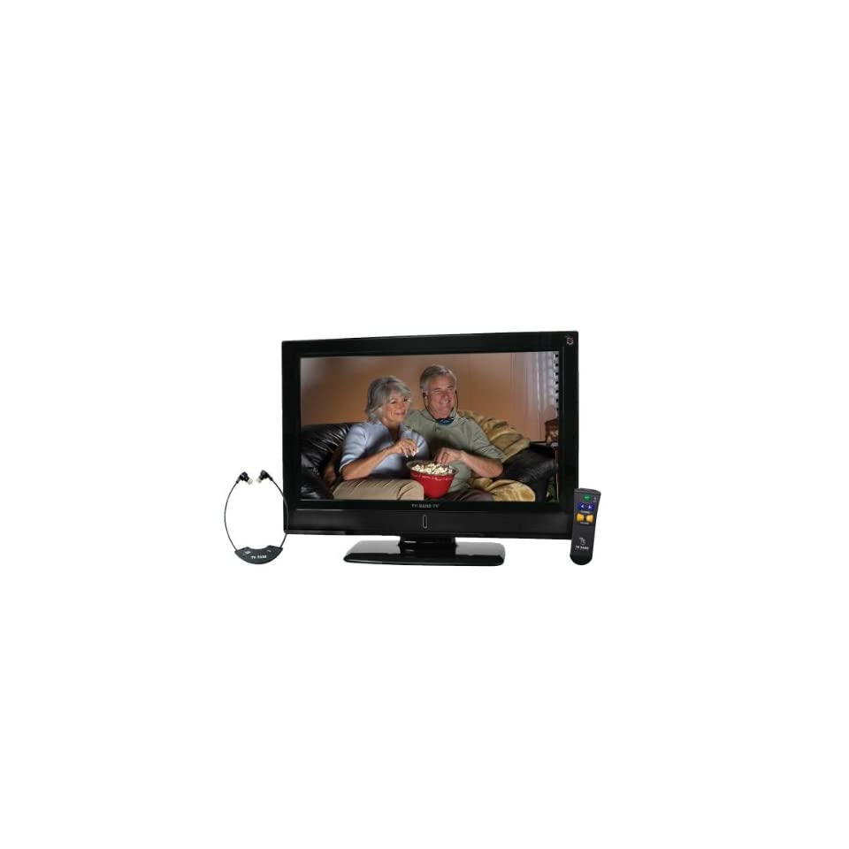 TV Ears 32 Inch LCD HDTV with Anti Glare TV Shield Protector Screen