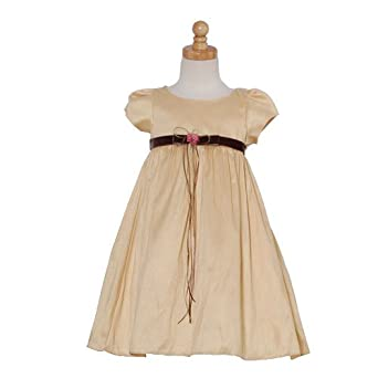 amazoncom kids dream toddler little girls gold silk