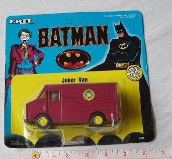 Batman Huge Joker Van Die Cast Metal - 1