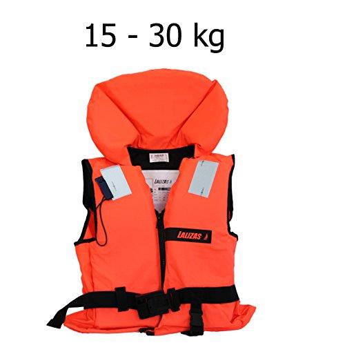 Lalizas Schwimmweste Rettungsweste 15 - 30 kg ISO 12402-4 zertifiziert
