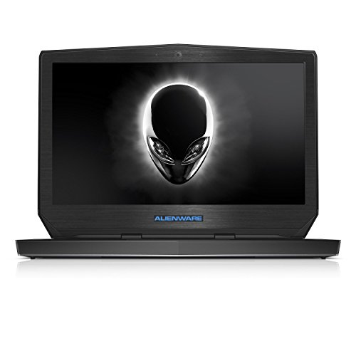 Black Brushed Aluminum skin decal wrap skin case for Dell Alienware 13 13.3″ laptop