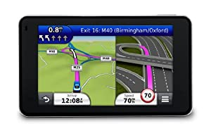"""Garmin nuvi 3490LT 4.3"""" Sat Nav with UK and Full Europe Maps, Free Lifetime Traffic Alerts and Bluetooth"""