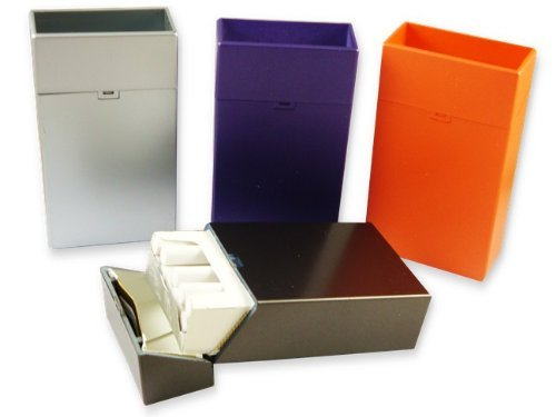 100's Sized Flip Top Cigarette Case (For 100's Only) (Assorted) #CH33