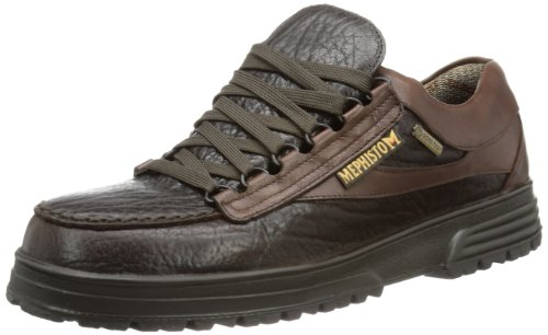 Mephisto - Scarpe basse stringate, Uomo, Marrone (Braun (DARK BROWN MAMOUTH 751/SUP-HYDRO 351)), 41,5