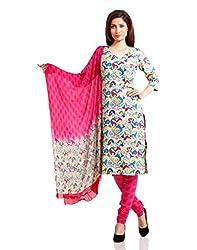 Pinkshink Cotton Multicolored Salwar Suit Dress Material psk20