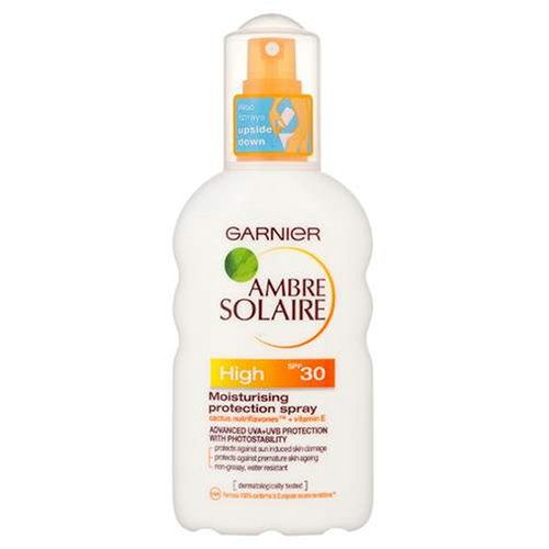 Garnier Ambre Solaire Moisturising Suntan Protection Spray High SPF30 200 ml