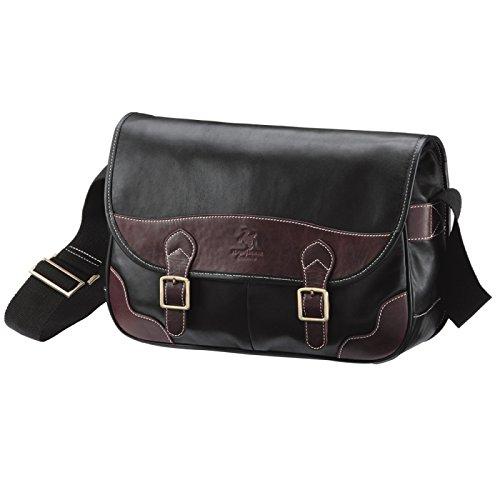 メッセンジャーバッグ ショルダーバッグ バッグ メンズ Men's 馬革 鞄 かばん カバン 紳士用 オイルホースレザーメッセンジャーバッグ 68973