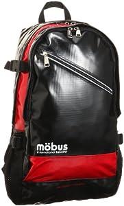 [モーブス] mobus ターポリン バックパック MBX105 BK/RED (BK/RED)