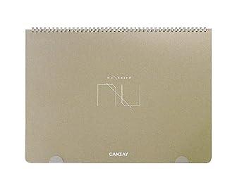 CANSAY ノート型ホワイトボード NUboard (A3変型)