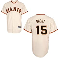 Bruce Bochy San Francisco Giants Home Replica Jersey by Majestic by Majestic