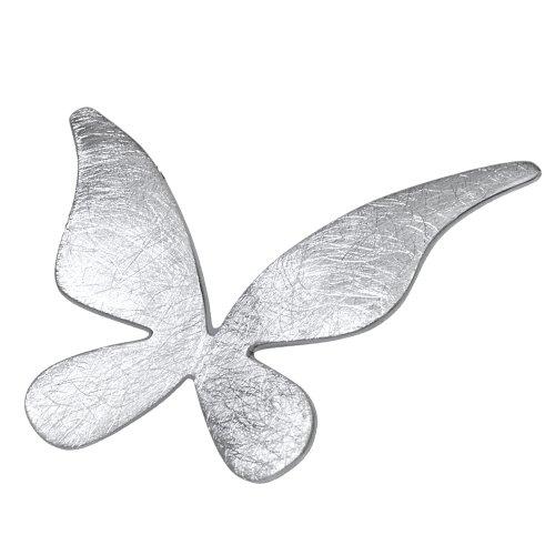 Vinani DamenAnhänger Schmetterling gebürstet Sterling Silber 925 ASLEZ Picture