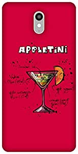The Racoon Lean Sweet Appletini hard plastic printed back case / cover for Lenovo Vibe X3