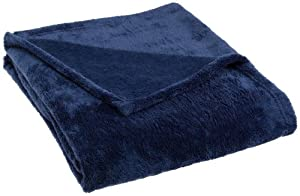 Pinzon 50-by-60-Inch Microtec Throw, Navy