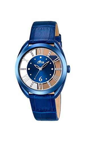 d97577e8d996 Lotus - Reloj de pulsera analógico para mujer cuarzo piel 18253 2 ...