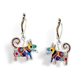 Dog Earrings from the Artazia Collection #334 NE