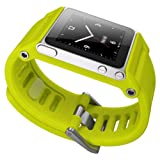 LunaTik TikTok Watch Wrist Strap for iPod Nano 6G - Yellow (Color: Yellow)