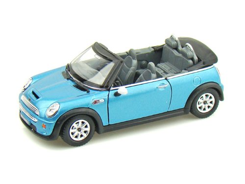 Kinsmart Mini Cooper S Convertible 1/28 Blue