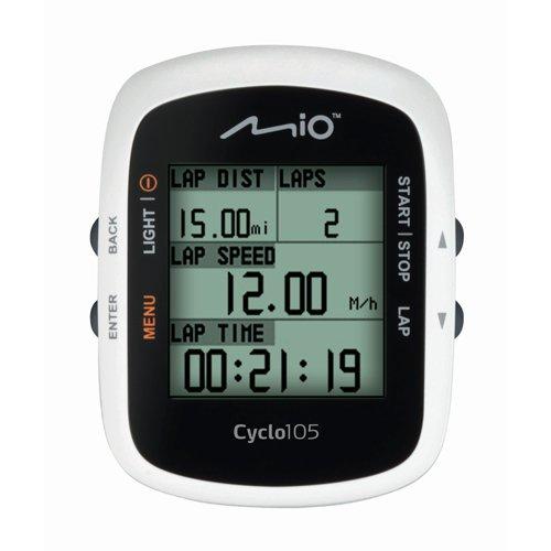 Mio Cyclo haute (Mio Fitness; 4,6cm; Cycle GPS Sangle Unité IPX7rythme cardiaque + Cadence Ant + connectivité facile à utiliser pour entraînement personnel partenaire mio-share PC: application 18