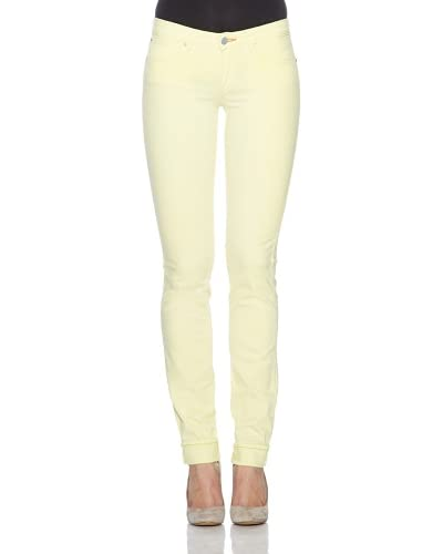 Wrangler Pantalón Molly Supreme Stretch Denim Spa Limón
