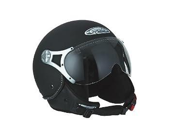Nolan N90-2 Classic N-Com Helm M 58 Schwarz Matt