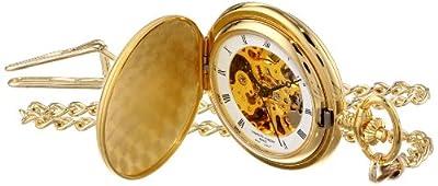 Charles-Hubert Pocket Watch 3595 Gold Plated Full Hunter