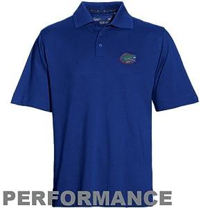NCAA Cutter & Buck Florida Gators Royal Blue DryTec Championship Performance Polo by Cutter & Buck