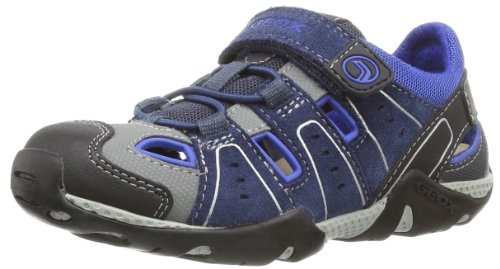 Geox Boys JR ARAGON B Low Blue Blau (NAVY/ROYAL C4226) Size: 37